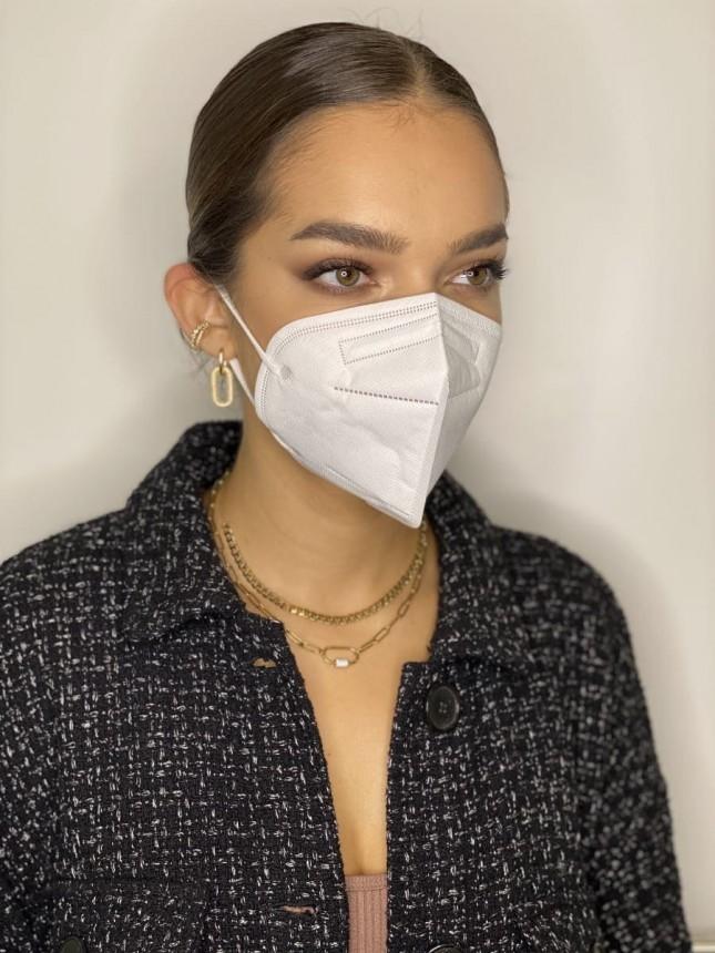 Kit com 1 caixa 50 máscaras FFP2 + Sesderma Lactyferrin 190ml