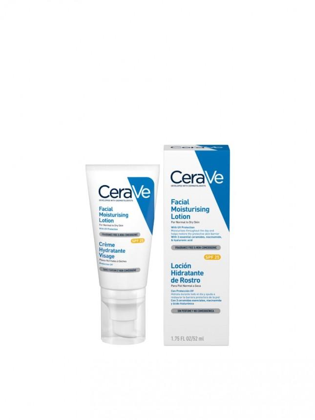 CeraVe Loção Facial Hidratante FPS 25 52 ml