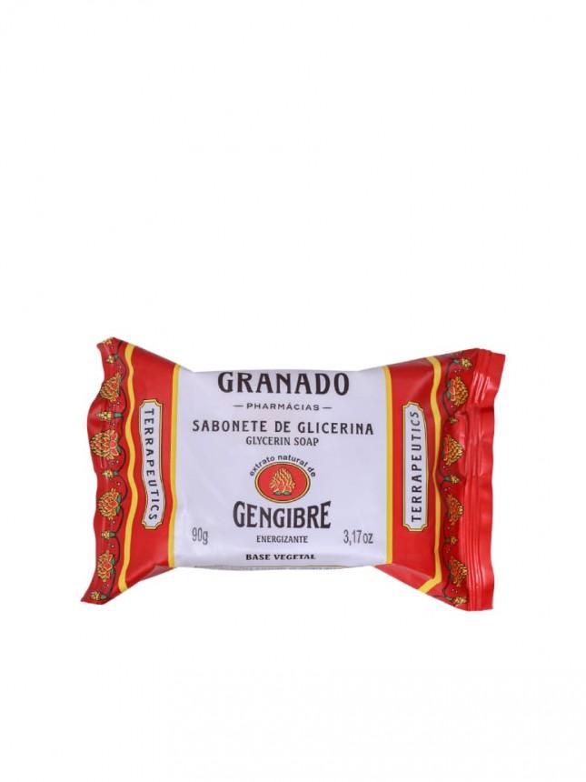 Granado Sabonete Glicerina Gengibre Energizante Terrapeutics