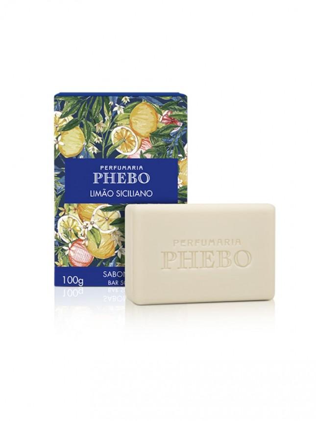 Phebo Sabonete Limão Siciliano