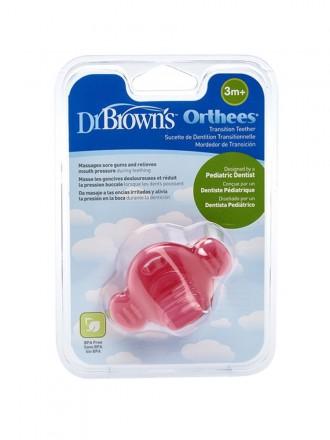 Dr Browns Mordedor de Transição  Orthees Rosa