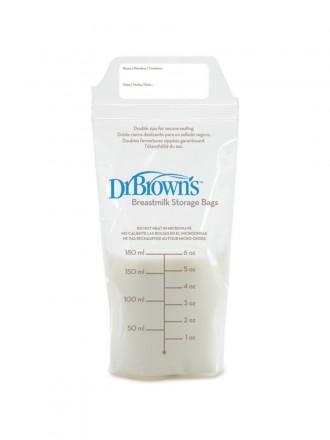 Dr Browns Saco Leite Materno (25 sacos)