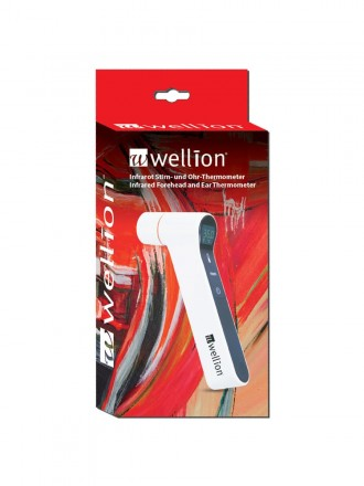 Termómetro Infravermelhos para  Testa e Ouvido Wellion