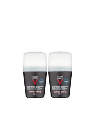 Vichy Homme Duo Desodorizante Controlo Extremo 72h