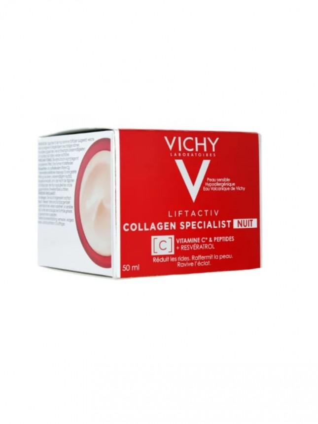 Vichy Creme de Noite Liftactiv Collagen Specialist 50ml