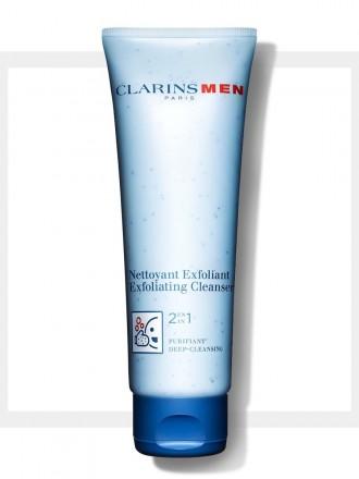 Clarins Men Creme de Limpeza 2 Em 1 Esfoliante 125ml