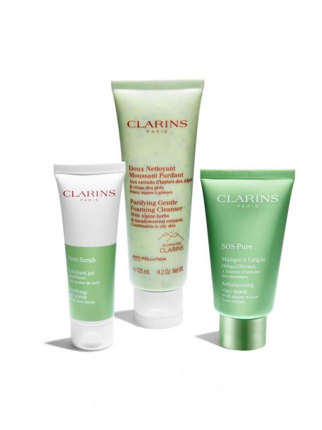 Clarins Creme Espuma de Limpeza Suave Purificante 125 ml
