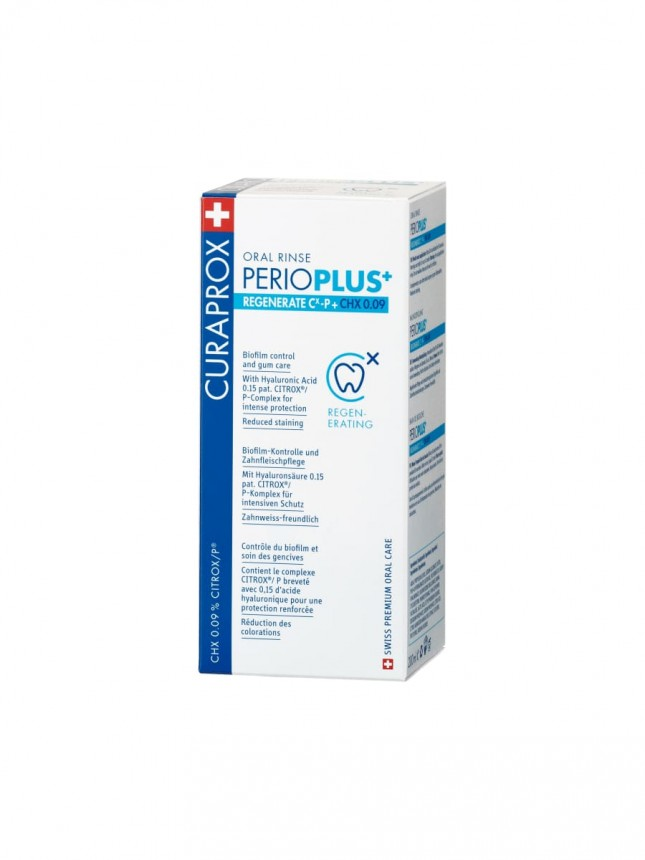 Curaprox Perio Plus Regenerante Colutório 200ml,