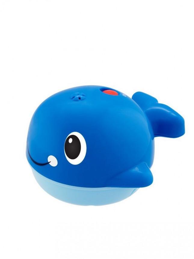 Chicco Brinquedo de Banho Baleia Salpica Azul 6 a 36 meses