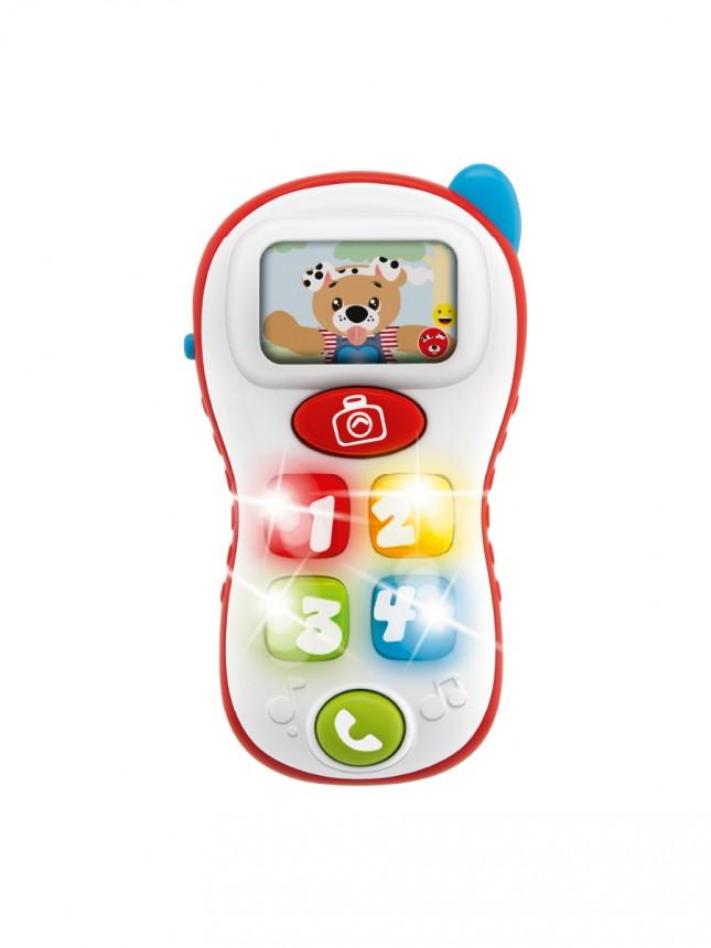 Chicco Brinquedo Telefone Selfie Phone 6 a 36 meses