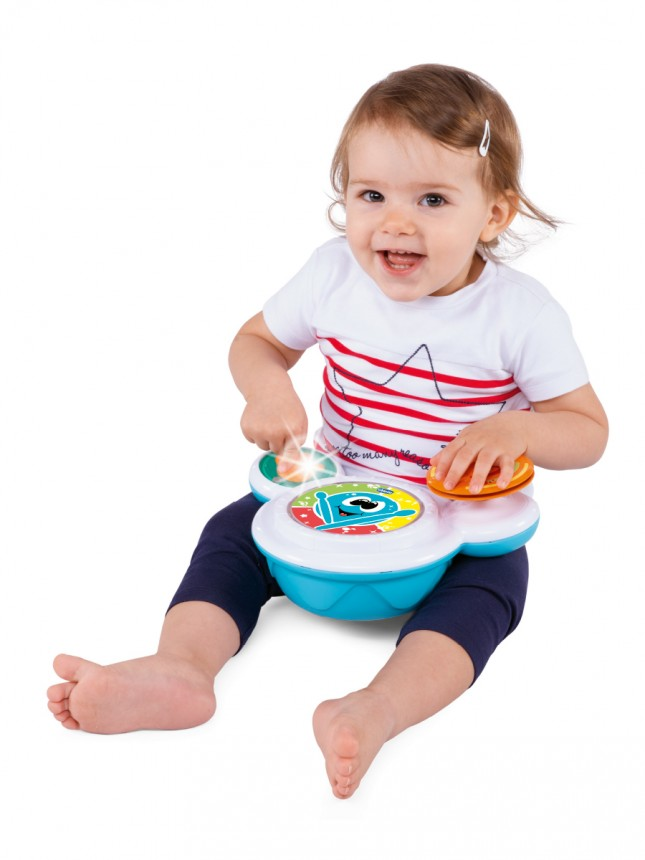 Chicco Brinquedo Musical Bateria Happy 9 a 36 meses