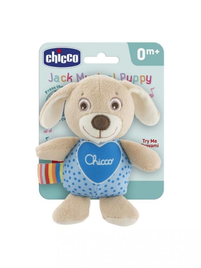 Chicco Brinquedo Musical Cãozinho de Passeio First Love 0+ meses