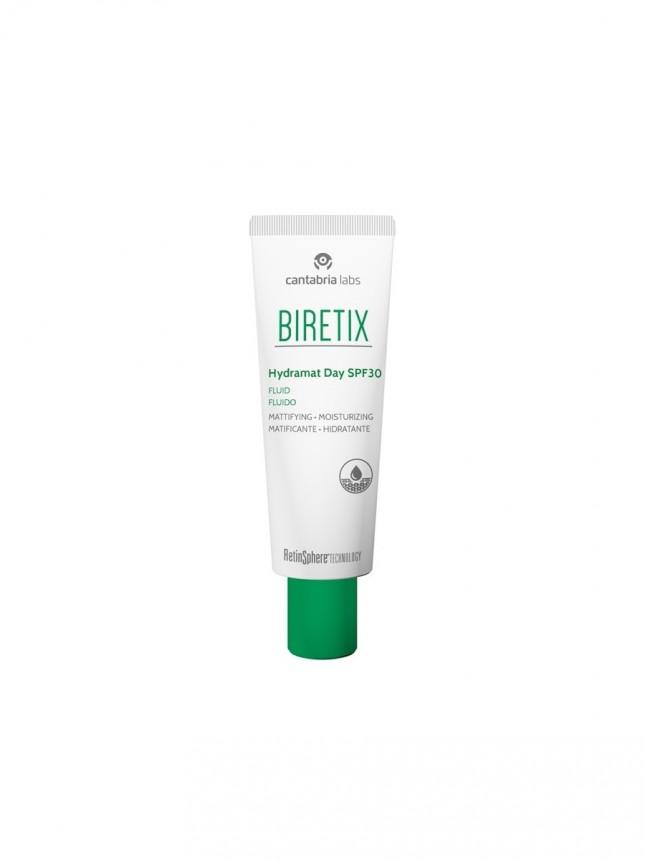 Biretix Hidramat Fluido de Rosto  Hidratante e Matificante SPF 30 50 ml