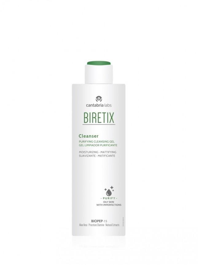 Biretix Cleanser Gel de Limpeza Purificante para Pele Oleosa 200 ml