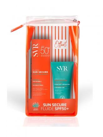 SVR Sun Secure Pack Promocional Fluído Invisível 50+ 50 ml com Oferta de Pós-Solar 50 ml