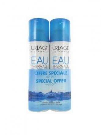 Uriage Eau Thermale Duo Água Termal Preço Especial 2x300ml com 50% desc na 2ª embalagem
