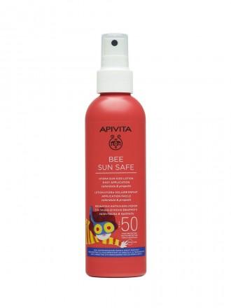 Apivita Bee Sun Safe FPS50 Loção em Spray Protetor Solar de Corpo para Crianças 200 ml