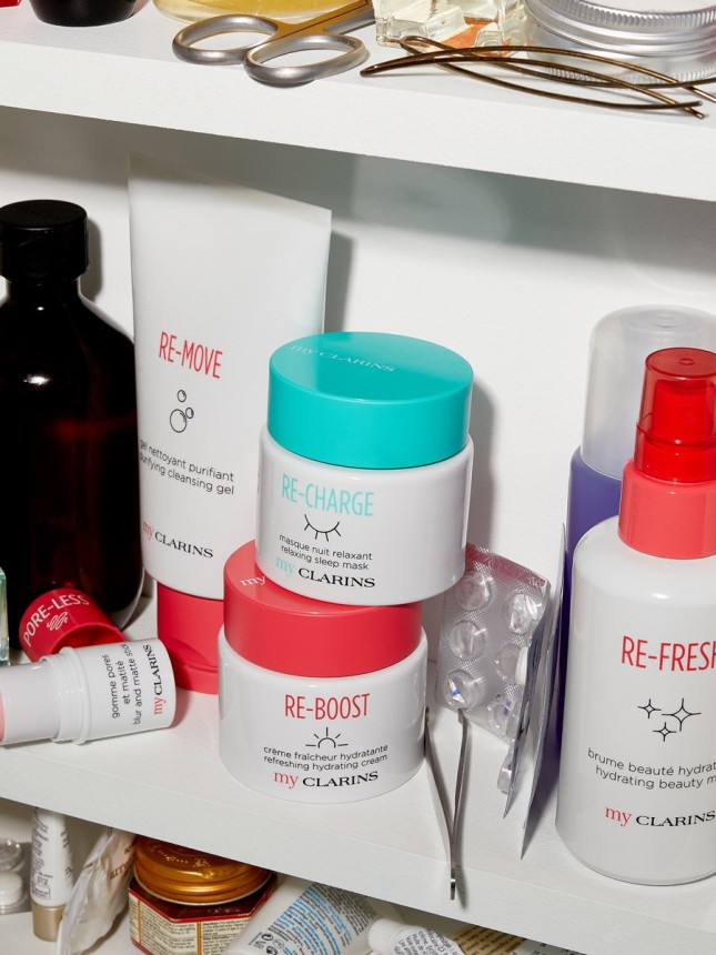 MyClarins Re-Charge Máscara Noturna Relaxante 50ml