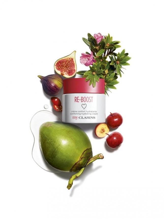 MyClarins Re-Boost Creme Hidratante para Pele Seca 50 ml