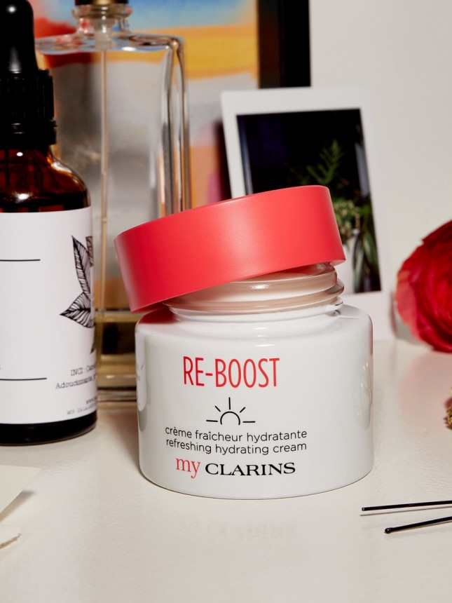 MyClarins Re-Boost Creme Hidratante Refrescante para Pele Normal 50ml