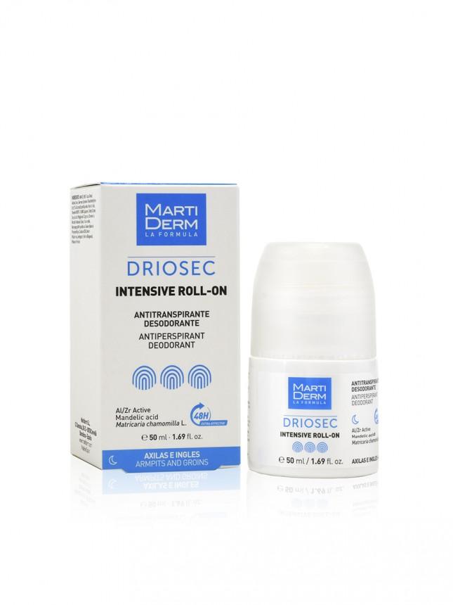Martiderm Driosec Roll On Intensive Desodorizante Antitranspirante 50 ml