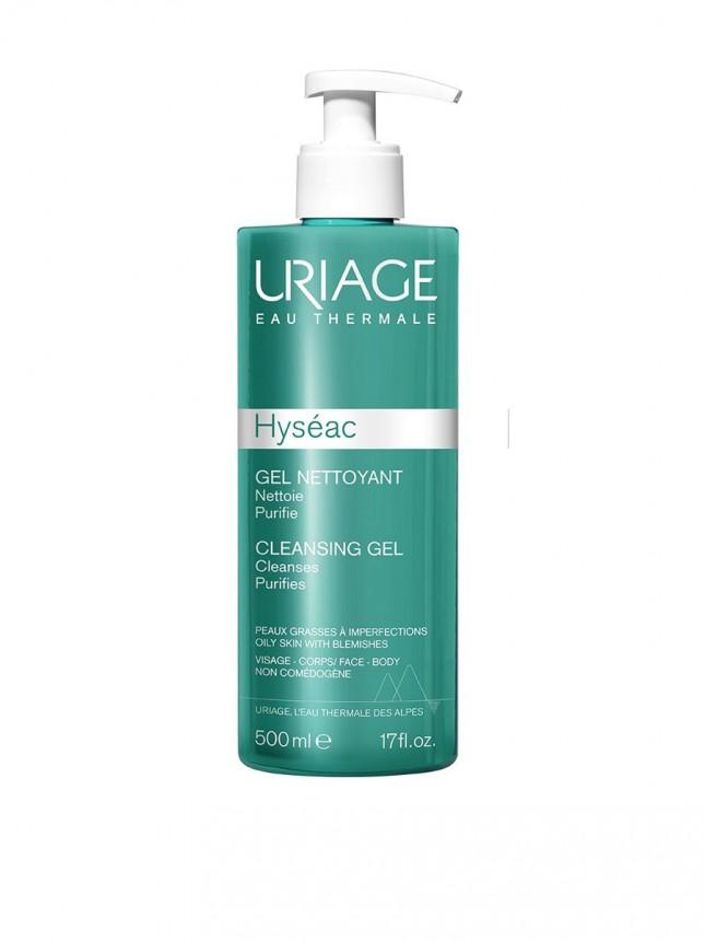 Uriage Hyseac Gel de Limpeza para Rosto e Corpo 500ml