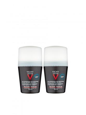 Vichy Homme Duo Desodorizante Pele Sensível 48h