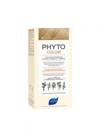 Phyto Phytocolor Kit Coloração para Cabelo 10 Louro Extra Claro