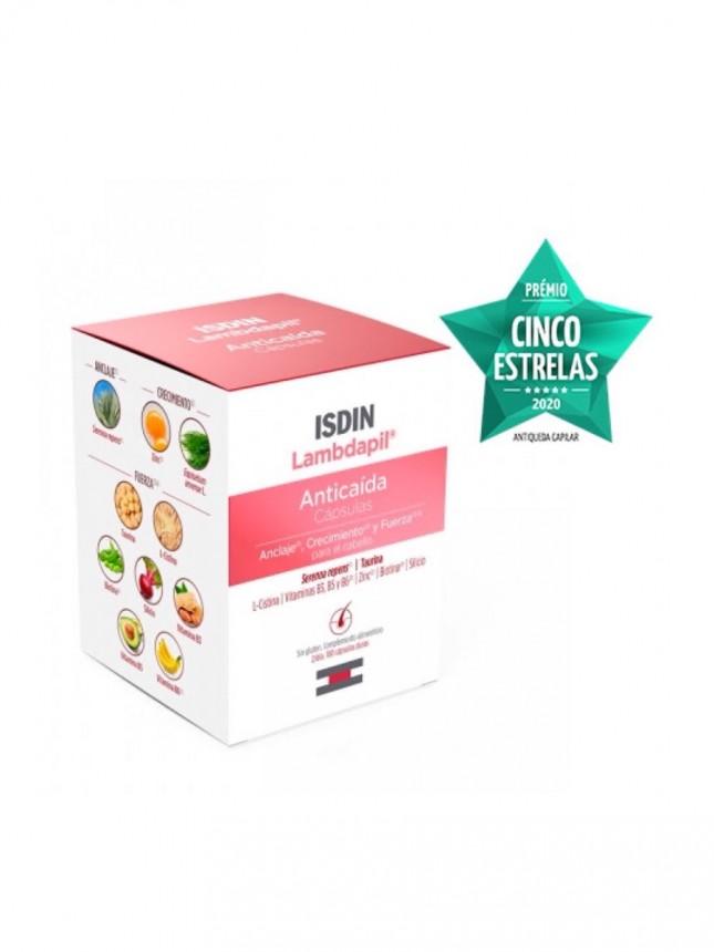 Isdin Lambdapil Antiqueda 3 x 60 cápsulas (oferta de 1 embalagem)