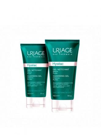 Uriage Hyseac Duo Gel Limpeza Suave Oferta 2ª embalagem 2 x 150ml